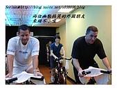 于老師要騎【鐵馬】教課囉VS健身房飛輪朋友080527上傳:兩位不太愛說話但說起話來又停不下來的朋友