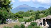 義大利之旅-羅馬GOLF PARCO DE'MEDICI喜來登 -龐貝古城-拿坡里-卡布里島:龐貝古城-維蘇威火山.JPG