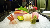 八王子日式懷石料理:黑鮪魚綜合生魚片.jpg