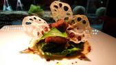 台北侯布雄法式餐廳 Robuchon Taipei:Robuchon Taipei-炙燒羊里肌搭配山葵時令鮮蔬.jpg