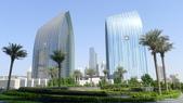 阿拉伯聯合大公國之旅-Armani Hotel Dubai(亞曼尼設計大師全球首家飯店):杜拜-Armani Hotel Dubai-大門外的景緻.jpg