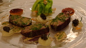 巴黎香格里拉大酒店(Shangri-La Hotel Paris)+米其林二星L''Abeille:巴黎香格里拉大酒店-L''Abeille米其林二星法式餐廳-西班牙GALICIA牛排+橄欖油醋魚子醬