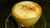 犇鐵板燒:犇鐵板燒-拿鐵咖啡.JPG