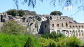 義大利之旅-羅馬GOLF PARCO DE'MEDICI喜來登 -龐貝古城-拿坡里-卡布里島:龐貝古城1.JPG