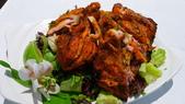 番紅花印度料理:番紅花印度料理-坦都傳統窯烤雞腿.JPG
