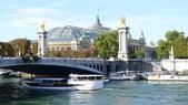 法國巴黎:法國巴黎-塞納河-亞歷山大三世橋-大皇宮.JPG