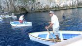 義大利之旅-卡布里島-藍洞-蘇連多-阿瑪菲海岸:藍洞洞口1.JPG