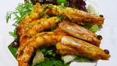 番紅花印度料理:番紅花印度料理-皇家香料烤明蝦.JPG