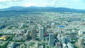 台北101大樓+觀景台:信義計畫區往北.JPG