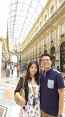 義大利之旅-米蘭-加達湖-維諾納:米蘭-艾曼紐二世拱廊購物區6.JPG