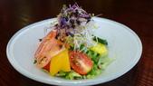 台北花園大酒店-花園日本料理:生菜沙拉.jpg