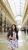 義大利之旅-米蘭-加達湖-維諾納:米蘭-艾曼紐二世拱廊購物區5.JPG