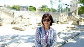 法國之旅--亞爾-嘉德水道古橋-蒙佩利爺:亞爾-古羅馬劇院5.JPG