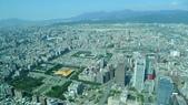 台北101大樓+觀景台:信義計畫區往西北淡水1.JPG