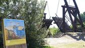法國之旅--亞爾-嘉德水道古橋-蒙佩利爺:亞爾-梵谷名畫之曳引橋.JPG