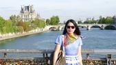 法國巴黎:法國巴黎-塞納河-愛情鎖藝術橋1.JPG