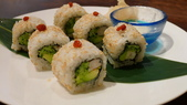 再訪 牡丹園日本料理:牡丹園日本料理-酪梨明蝦卷.jpg