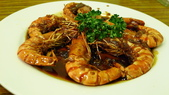 磐石坊印尼料理:磐石坊印尼料理-黃油焗蝦.jpg