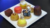 澳門新葡京酒店-米其林三星侯布雄天巢法國餐廳(Robuchon au Dôme):天巢法國餐廳-精選法式甜品.JPG