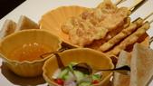台北文華東方酒店-Thai&Thai:Thai&Thai泰式餐廳-泰式傳統雞肉沙嗲.JPG