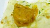 巴雷巴雷印度餐廳:巴雷巴雷印度餐廳-北印度風格蝦佐烤餅.JPG