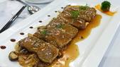 香港新同樂-米其林二星中餐廳:新同樂-米其林二星中餐廳-鮮菌蒜燒日本產A5和牛.JPG