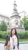 義大利之旅-米蘭-加達湖-維諾納:米蘭-達文西雕像1.JPG