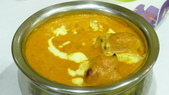 巴雷巴雷印度餐廳:巴雷巴雷印度餐廳-奶油雞肉咖哩.JPG