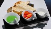 番紅花印度料理:番紅花印度料理-印度脆餅配醬1.JPG