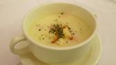 TRASTEVERE義大利餐廳:SOGO復興館 TRASTEVERE義大利餐廳-培根奶油濃湯.jpg