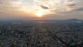 台北101大樓+觀景台:信義計畫區往西南方向-日落.JPG