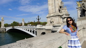 法國巴黎:法國巴黎-塞納河-亞歷山大三世橋2.JPG