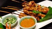 微風廣場-泰喜歡泰式料理+貓空纜車:微風廣場-泰喜歡泰式料理-泰式沙嗲串.JPG
