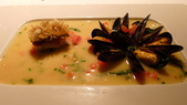 ABU AUTHENTIC CUISINE 歐陸餐廳:ABU AUTHENTIC CUISINE-歐陸餐廳-脆皮馬頭魚,法式白酒淡菜.jpg