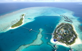 馬爾地夫倫格里島康瑞德度假酒店(Conrad Maldives Rangali Island):水上飛機空拍-馬爾地夫康瑞德度假酒店1.jpg