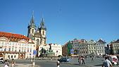 德國捷克奧地利之旅:37.布拉格胡斯廣場.jpg