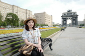 俄羅斯之旅:莫斯科凱旋門3.JPG