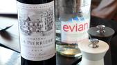 法國之旅-巴黎:巴黎-鐵塔58樓景觀餐廳-精選2014年份紅酒.JPG
