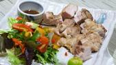 高雄帕莎蒂那HASHI日本料理:高雄帕莎蒂那HASHI日本料理-鹽燒雞腿定食.JPG