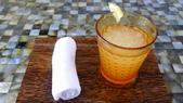 馬爾地夫-庫達呼拉島四季酒店(FOUR SEASONS KUDA HURAA):馬爾地夫-庫達呼拉島四季酒店-迎賓飲料.JPG