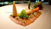 台北侯布雄法式餐廳 Robuchon Taipei:Robuchon Taipei-生食紅魚甘及鮭魚拌佐香料油封檸檬.jpg