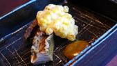 香港天空龍吟-米其林二星日法料理:天空龍吟-米其林二星日法料理-蝦夷鮑魚+玉米天婦羅.JPG
