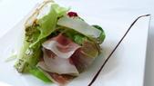 BELLAVITA-BEATATE義大利餐廳:BELLAVITA購物中心-Beatate 義大利餐廳-帕馬火腿起士沙拉.jpg