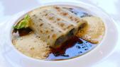 巴黎Le Bristol Paris Hotel-EPICURE米其林三星法式餐廳:EPICURE米其林三星法式餐廳-黑松露鵝肝醬通心粉佐帕瑪森起士.JPG