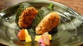 再訪 牡丹園日本料理:牡丹園日本料理-烤鮭魚飯團.jpg