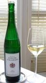 台中樂沐法式餐廳(2014年亞洲最佳50餐廳第24名):台中樂沐法式餐廳-經典套餐-2012年德國SCHLOSS VOLLRADS白酒.JPG
