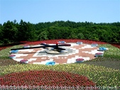 北海道旅遊:花時計 (2)