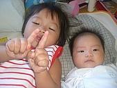 恬恬與妹妹的合照:CIMG5289