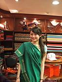 九月抓飛印度蓮花寺:這是印度婦女穿的沙麗