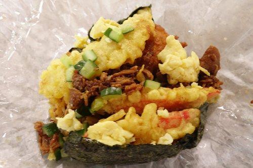 澎湖馬公市區景點&美食:綜合配料飯團-澎湖享吃日式飯糰